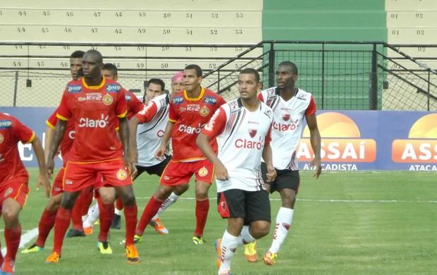 Atlético Sorocaba x Oeste, pelo Paulistão (Foto: Marcos Vinícius Souza)