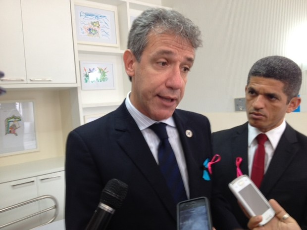 Ministro da Saúde (Foto: Henrique Mendes)