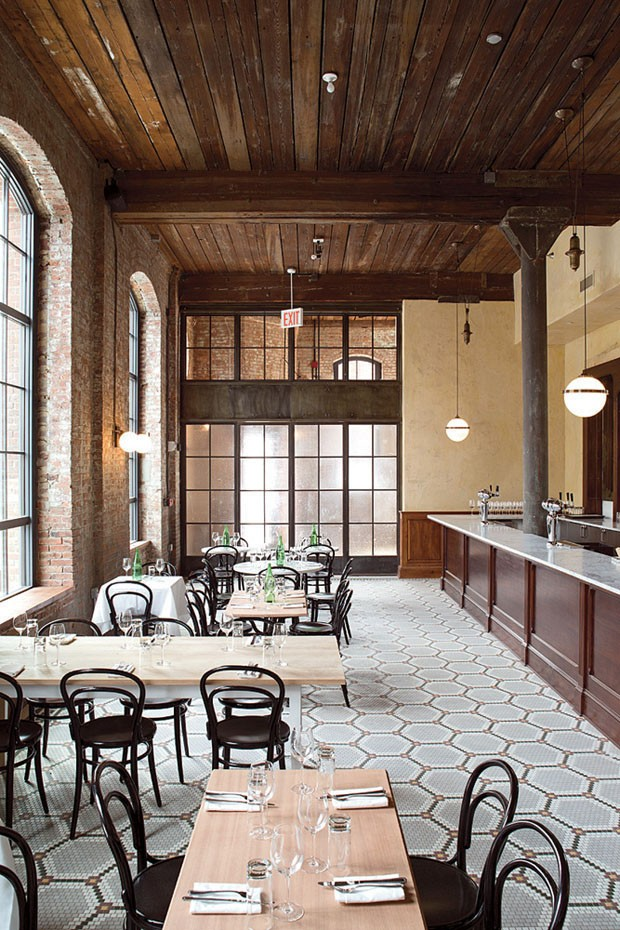 10 Restaurantes Com Ares Industriais Casa Vogue Lazer