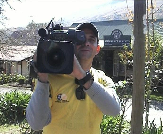 Ari Júnior era da equipe do Planeta Extremo (Foto: TV Globo)