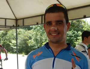 Almério Marra, ciclista paraibano (Foto: Larissa Keren)