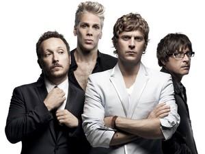 A banda americana Matchbox Twenty (Foto: Divulgação)