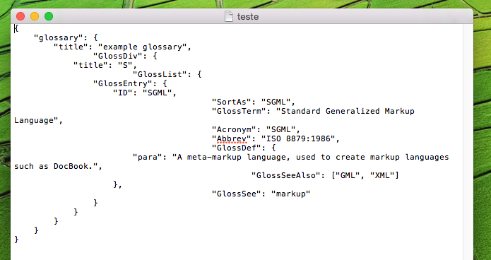 Como converter arquivos JSON para CVS, PDF ou outros formatos