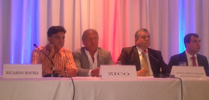 Zico e Ricardo Rocha oab (Foto: Felipe Schmidt)