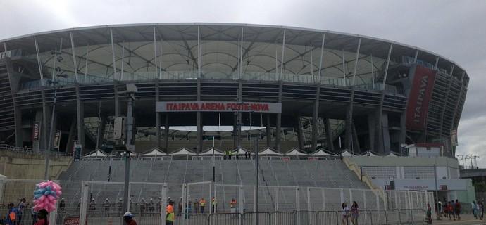 arena fonte nova; ba-vi; bahia; Vitória (Foto: Thiago Pereira)