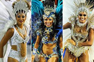 Confira fotos dos desfiles do  Grupo Especial do Rio (Alexandre Durão e Rodrigo Gorosito/G1)