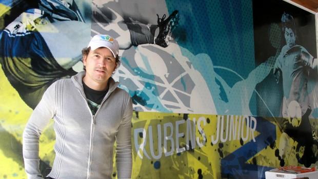 Rubens Júnior (Foto: Arthur Costa/ Globoesporte.com)