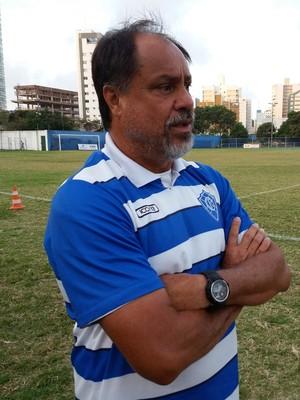 Samuel Batista, técnico do Vitória-ES (Foto: Richard Pinheiro/GloboEsporte.com)