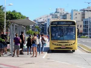 Festa da Penha tem reforço de ônibus na Grande Vitória, espírito santo. (Foto: Romero Mendonça/ Secom)