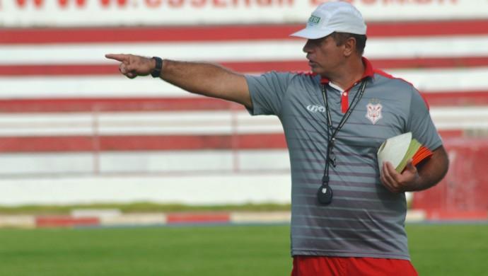 Carlos Rabello, Sergipe (Foto: Osmar Rios/GloboEsporte.com)