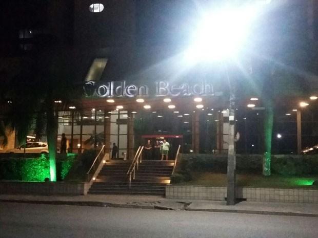 Crime aconteceu no hotel Golden Beach, em Piedade, Jaboatão dos Guararapes (Foto: Danielle Fonseca / TV Globo)
