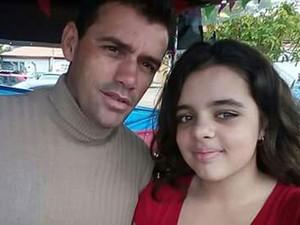 Josivaldo e a filha ficaram gravemente queimados após acidente em Santa Bárbara d'Oeste (Foto: Arquivo pessoal)