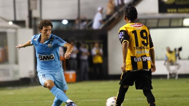 Santos (Foto: Gustavo Tilio / Globoesporte.com)