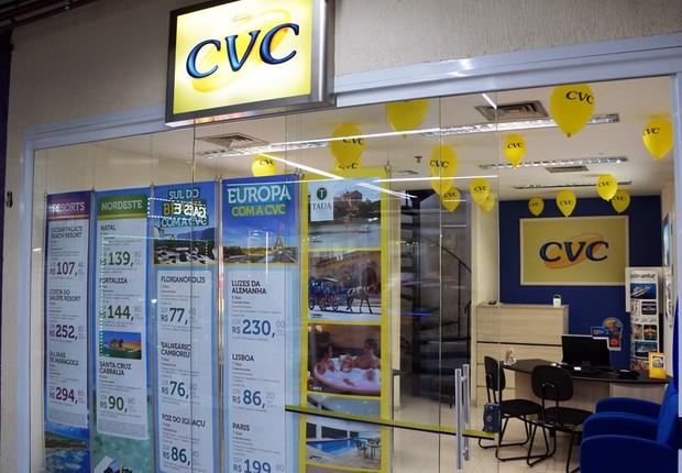 Loja da CVC Turismo (Foto: Reprodução/Facebook)