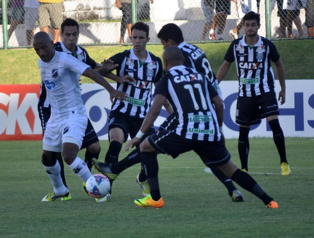 ABC x Figueirense, no Frasqueirão (Foto: Divulgação/ABC)