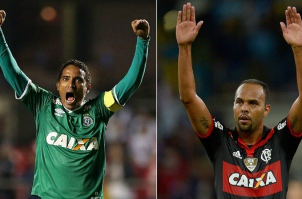 Chapecoense x Flamengo (Foto: Reprodução/Globoesporte.com)