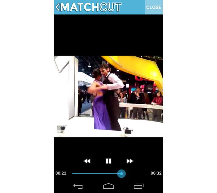 Vídeo criado no MachCut (Foto: Reprodução/ Marcela Vaz)