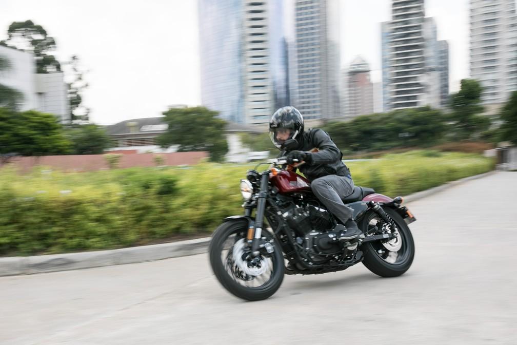 Harley-Davidson Roadster 1200 (Foto: Fábio Tito / G1)