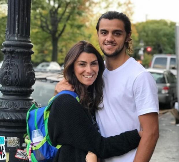 Felipe Simas com a mulher, Mariana Uhlmann  (Foto: Reprodução/Instagram)