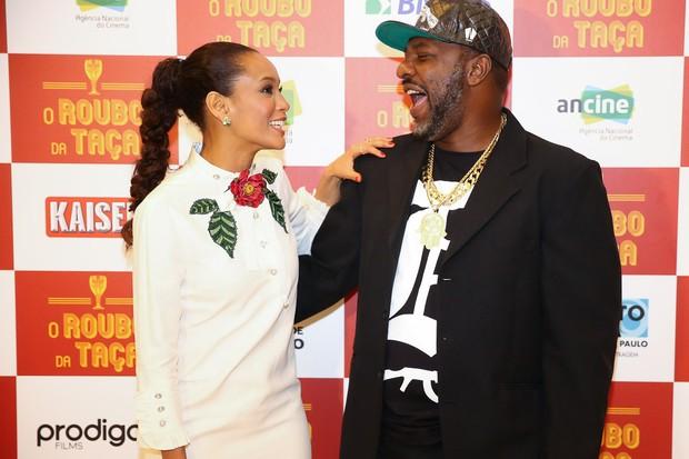 Taís Araújo e Mr Catra (Foto: Manuela Scarpa/Brazil News)