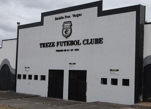 Estádio Presidente Vargas, Treze (Foto: João Brandão Neto / GloboEsporte.com)