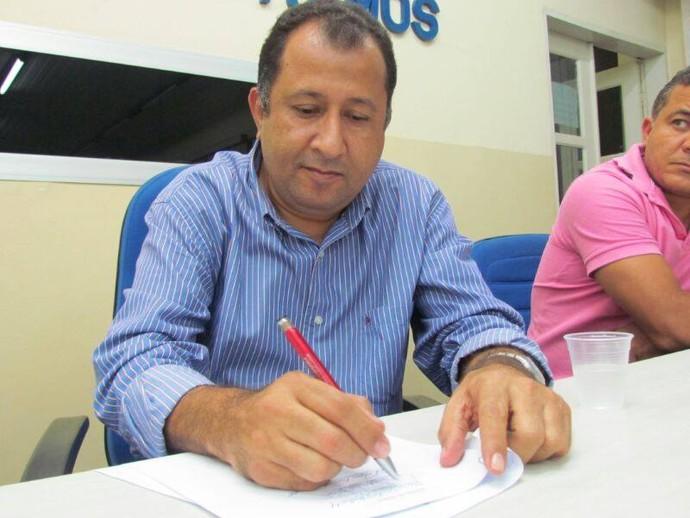 Aloísio Andrade é o novo presidente do Lagarto (Foto: Divulgação)