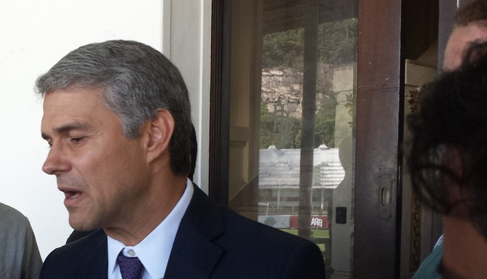 Peter Siemsem Presidente Fluminense (Foto: Sofia Miranda)