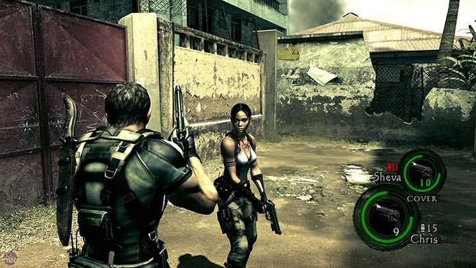Resident Evil 5 elevou o nível dos gráficos do game (Foto: Reprodução)