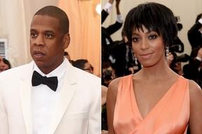Jay Z e Solange Knowles (Foto: AFP / Agência)