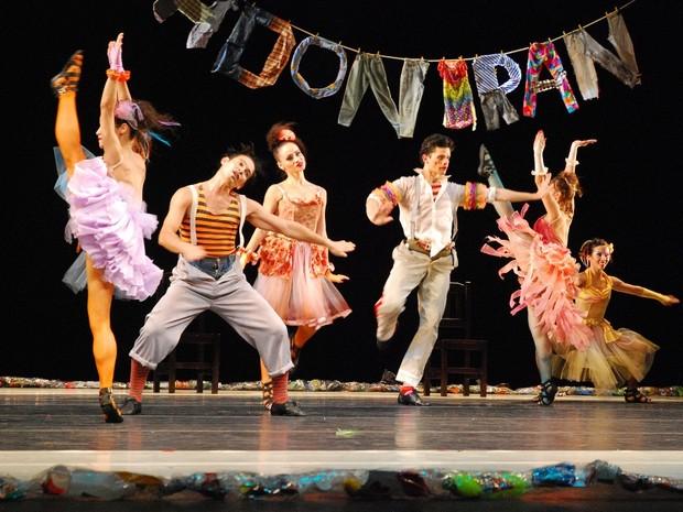 Ballet Stagium apresenta 'Adoniran' em Araraquara, SP (Foto: Divulgação/Sesc)