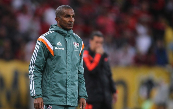 Cristóvão Borges Fluminense x Flamengo (Foto: Matheus Andrade / Photocâmera)