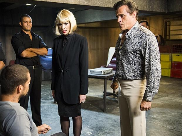 André se envolve numa trama de perigos no submundo da prostituição (Foto: TV Globo/João Miguel Júnior)