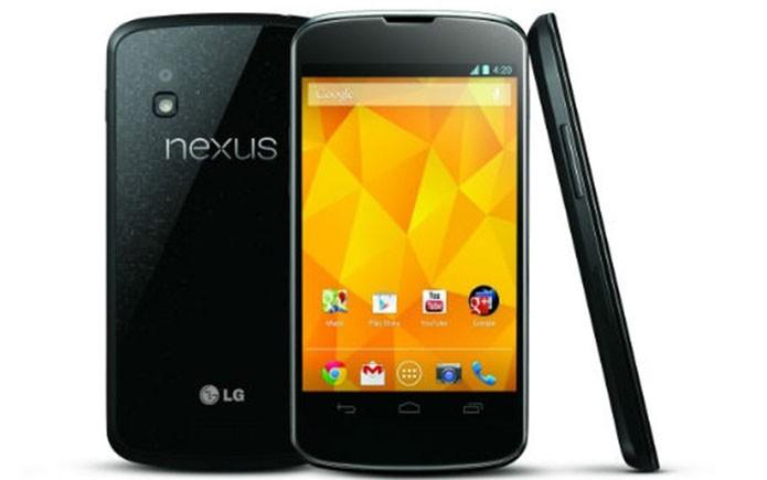 Nexus 4, fabricado pela LG, lançado em 2012 com Android 4.1 (Foto: Divulgação)