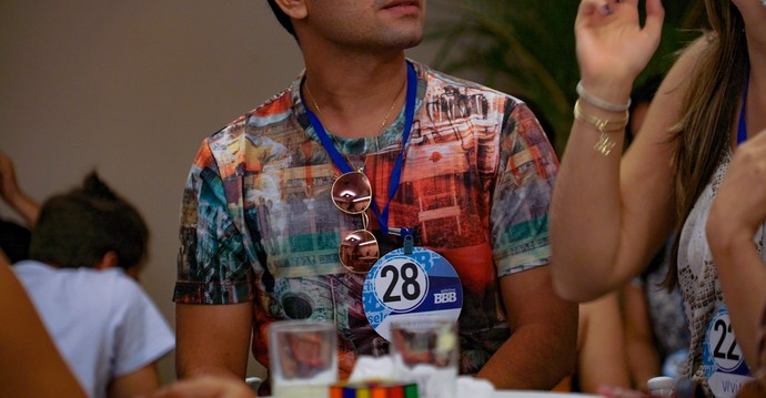 Será que a gente vai ver o candidato 28 dentro da casa do BBB17? (Foto: Gshow)