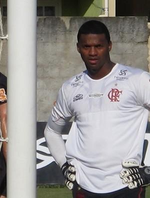 Felipe treino Flamengo (Foto: Fred Huber / Globoesporte.com)