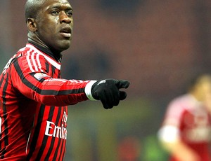Seedorf na partida do Milan (Foto: Getty Images)