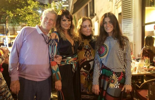 Charlô Whately, Adriana Barra, Esther Giobbi e Sarah Chofakian (Foto: Nina Keller)
