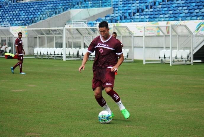 América-RN - João Paulo, zagueiro (Foto: Canindé Pereira/América FC)