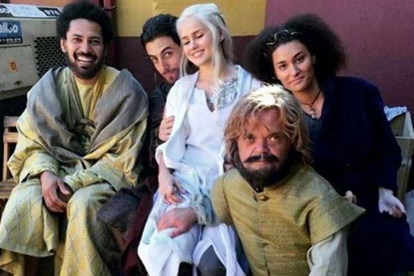 Parte dos dublês de Game of Thrones (Foto: Reprodução/Instagram)