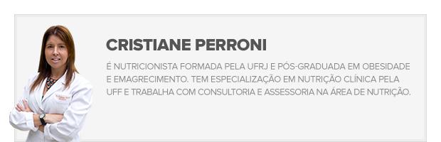Cris Perroni (Foto: GE)