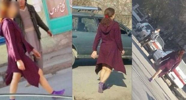 Andar com as pernas à mostra em Cabul, no Afeganistão, é um risco para uma mulher  (Foto: Hayat Ensafi)