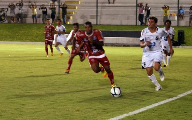ABC x Potiguar de Mossoró, no Estádio Frasqueirão (Foto: Augusto Gomes)
