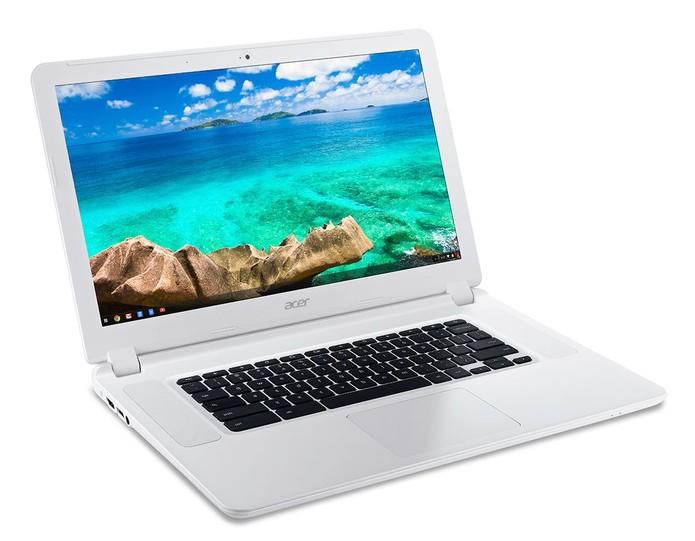 Chromebook 15, o primeiro com tela de 15 polegadas é da Acer (Foto: Divulgação/Acer)