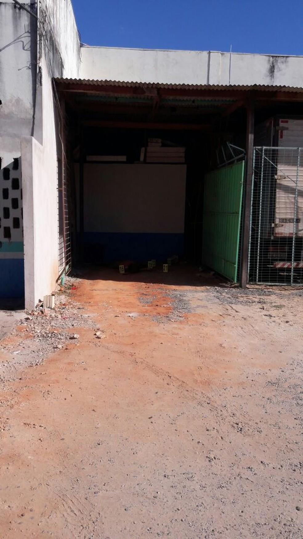 Segundo a polícia, não há indícios de que vítima tenha reagido (Foto: Rafael Brandão/ Portal Sorriso)