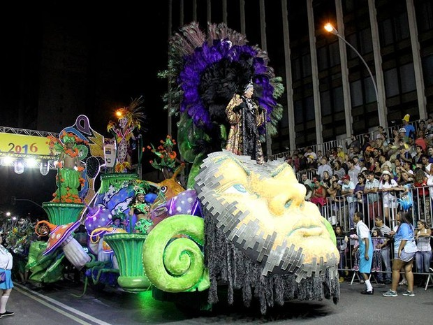 carnaval curitiba (Foto: Alice Rodrigues/ Fundação Cultural de Curitiba / Divulgação)