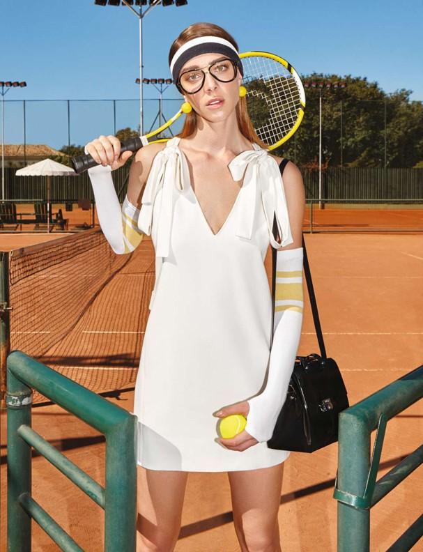 Moda tenista (Foto: Marcelo Krasilcic)