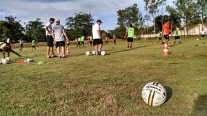 Bola da Kanxa Campeonato Mato-grossense (Foto: Fábio Ramirez/Mixtonet)