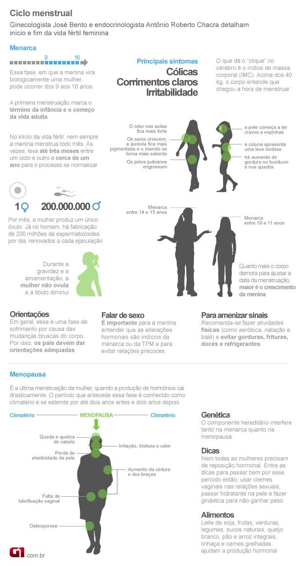 Menopausa (Foto: Arte/G1)