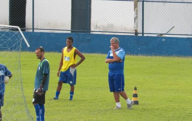 Fahel Júnior comanda primeiro treino no Sabino Ribeiro (Foto: Divulgação/ADC)