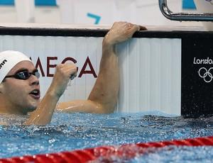 thiago pereira natação  londres 2012 prata olimpiadas (Foto: Satiro Sodré/AGIF)